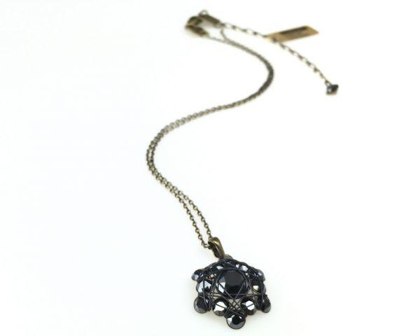 Konplott Bended Lights Halskette mit Anhänger in Schwarz #5450527758970