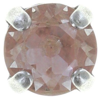 Konplott Black Jack Ohrstecker in beige/pink Silberfarben #5450543750194