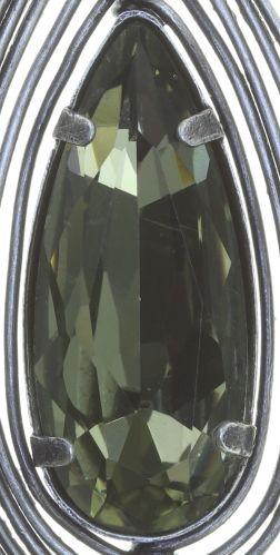 Konplott Amazonia Ohrhänger in grün, Größe M #5450543753164
