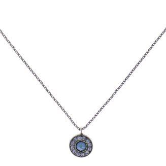 Konplott Spell on You Halskette mit Anhänger in hellblau Silberfarben #5450543735184