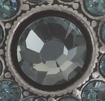 Konplott Spell on You Ohrstecker in blau, smoked sapphire #5450543691503