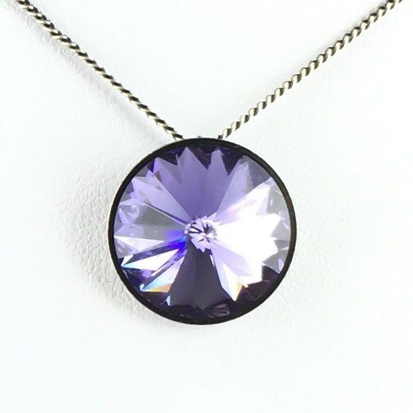 Konplott Rivoli lila Halskette mit Anhänger #5450527613002
