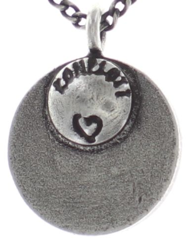 Konplott Spell on You Halskette mit Anhänger in lila Silberfarben #5450543735344