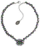 Caviar Treasure steinbesetzte Halskette in pastel multi
