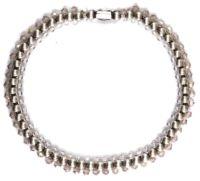 Konplott Bead Snakes elastisches Armband weiß #5450543662442