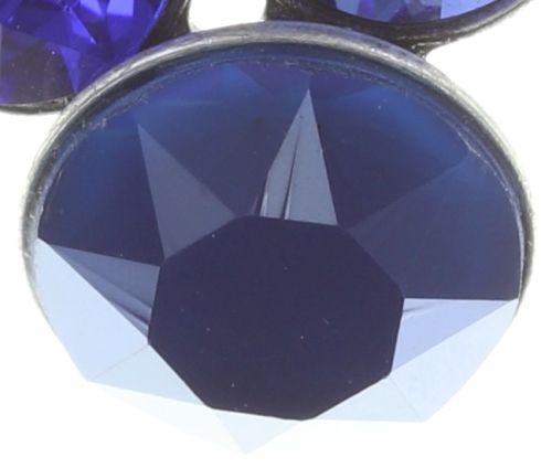 Konplott Petit Glamour Ohrstecker hängend in dunkel blau #5450543727295