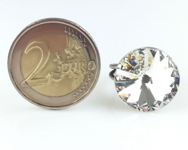 Konplott Rivoli crystal weißer Ring groß #5450527558280