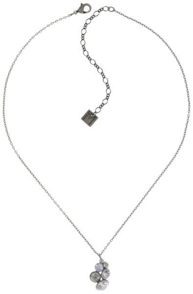 Konplott Petit Glamour Halskette mit Anhänger in weiß #5450543726823