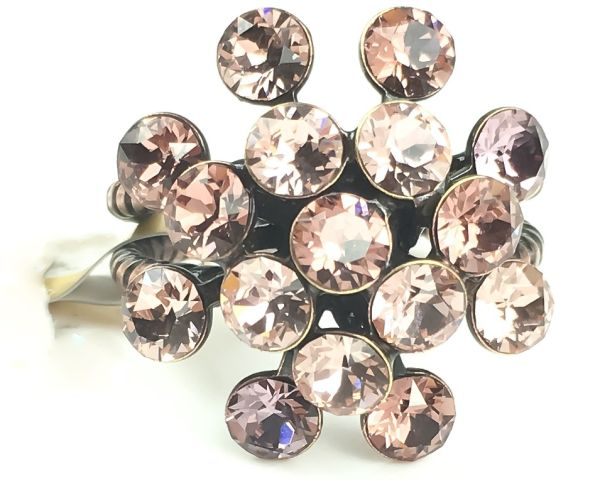 Konplott Magic Fireball rosa/lila Ring #5450543464411