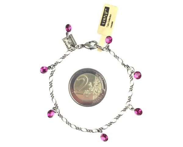 Konplott Tutui fuchsia Armband verschließbar, pink #5450527591638