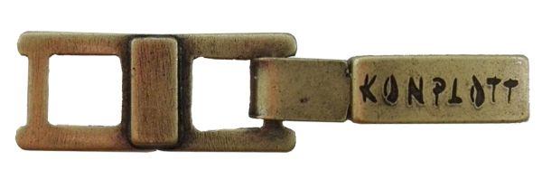Konplott Armband Verlängerung klein in Messing #5450527800488