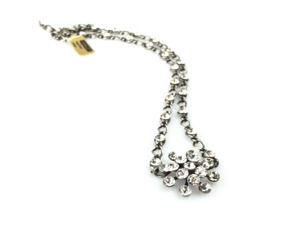Konplott Magic Fireball Halskette steinbesetzt mit Anhänger in crystal #5450527611602