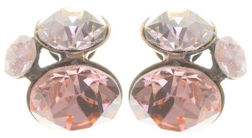 Konplott Disco Star Ohrstecker in pink #5450543766522