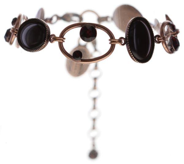 Konplott Oval in Concert Armband in braun #5450543698724