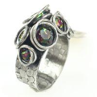 Konplott Sparkle Twistgrün/vitrail Ring klein #5450543470207
