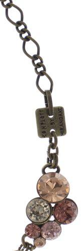 Konplott Petit Glamour steinbesetzte Halskette in beige #5450543682396