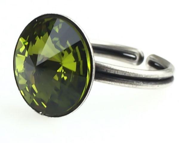 Konplott Rivoli olivine Ring #5450527640824
