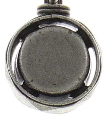 Konplott Medieval Pop Halskette mit Anhänger S Stein dunkelrosa NUR NOCH KURZE ZEIT VERFÜGBAR #5450543635224