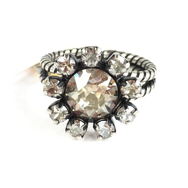 Konplott MyRouge grauer Ring #5450543633343