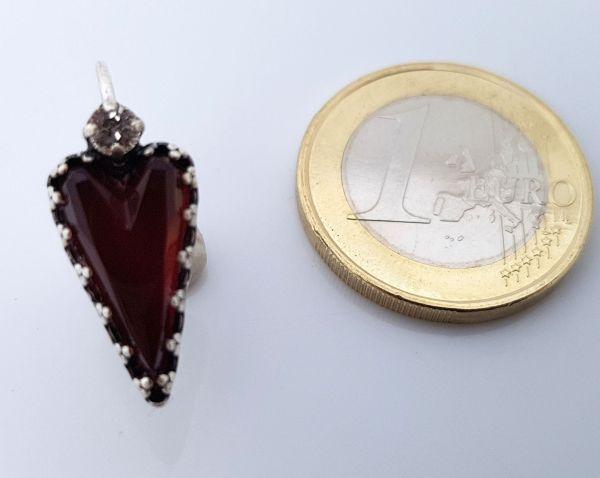 Konplott Snow White Ohrhänger in rot Größe S #5450543757759