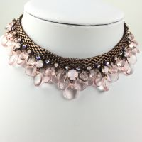Konplott Aquarell rosa Halskette Choker #5450543480459