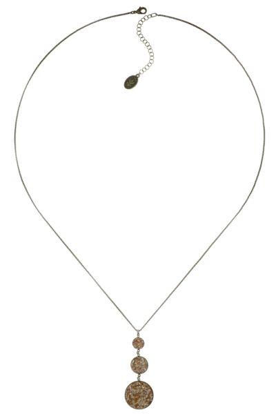 Konplott Studio 54 Halskette mit Anhänger in gold gelb Messing #5450543749112