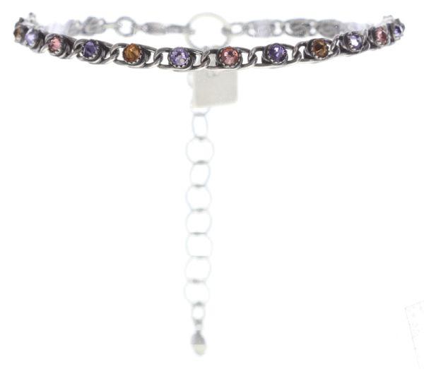 Konplott Apple Blossom Armband braun, lila, rosa #5450543666303