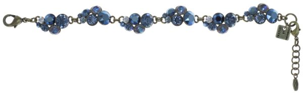 Konplott Petit Glamour Armband in dunkelblau #5450543760063