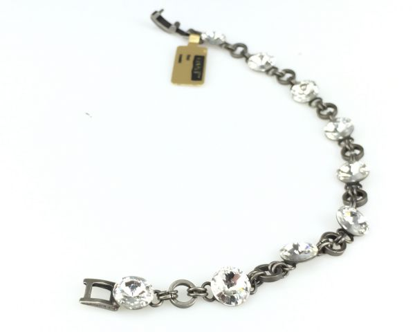 Konplott Rivoli crystal weißes Armband verschließbar #5450527558198