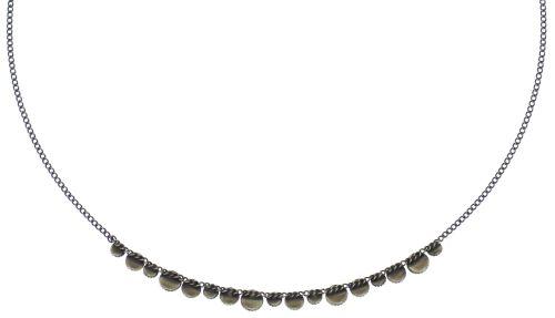 Konplott Water Cascade steinbesetzte Halskette in beige #5450543772875
