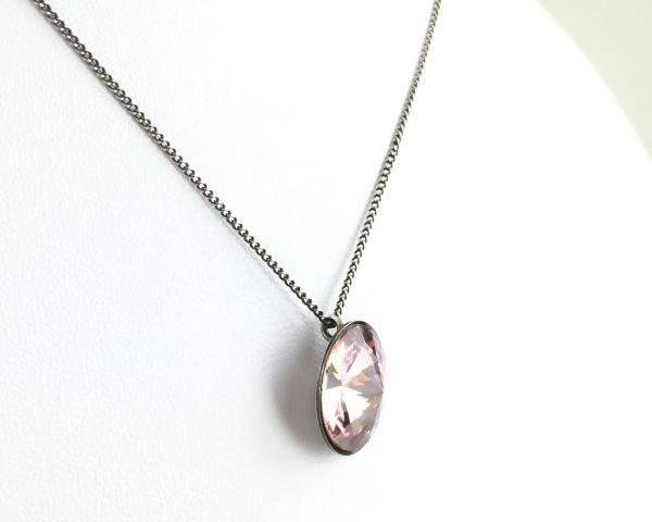 Konplott Rivoli light amethyst Halskette mit Anhänger rosa/lila #5450527613033