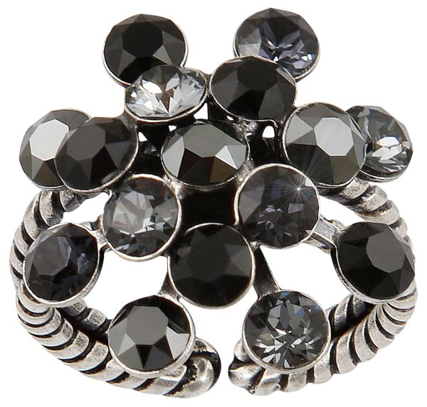 Konplott Magic Fireball Ring in schwarz #5450543765815