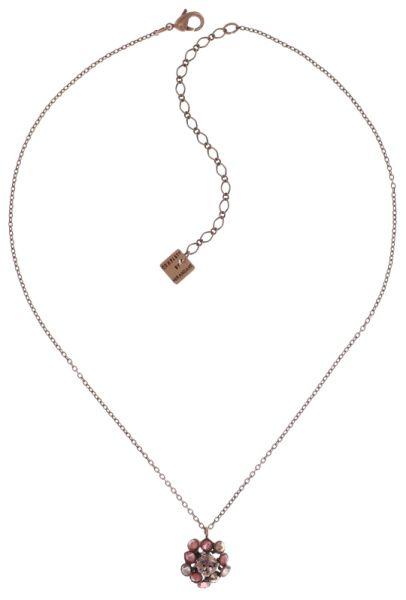 Konplott Caviar Treasure Halskette mit Anhänger in beige/pink #5450543707235