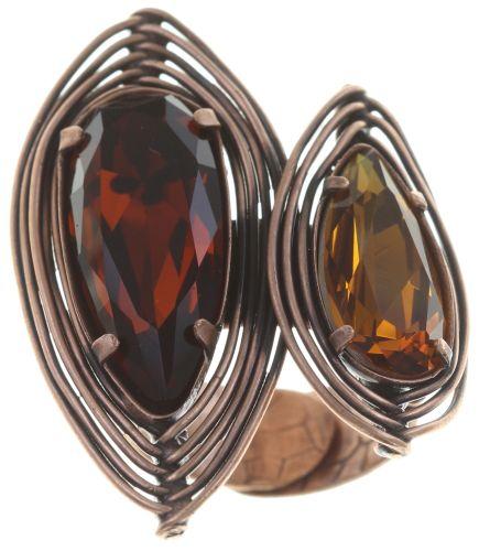 Konplott Amazonia Ring in braun, Größe M,S #5450543752730