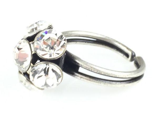 Konplott Disco Balls crystal Ring mit 1 Kugel #5450527597036