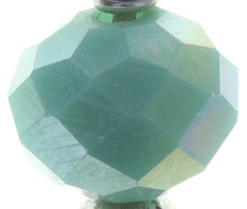 Konplott Festival Ohrhänger in grün Silberfarben #5450543746142