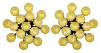 Magic Fireball Ohrstecker klassisch in lemon jelly crystal sunshine de lite