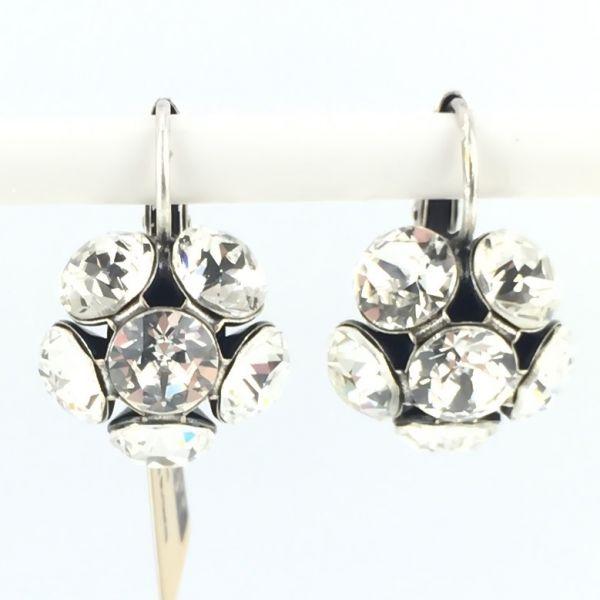 Konplott Disco Balls crystal Ohrhänger mit Klappverschluss #5450527597319
