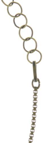 Konplott Studio 54 Halskette mit Anhänger groß in beige #5450543684130