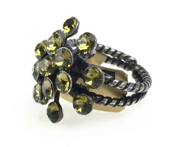 Konplott Magic Fireball 16 Stein Ring in khaki #5450527640312