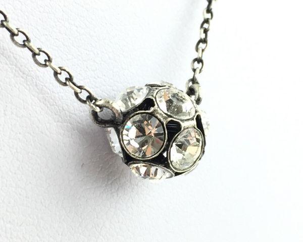 Konplott Disco Balls crystal Halskette mit Anhänger M #5450527596992