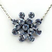 Konplott Magic Fireball Halskette mit Anhänger in light sapphire, hellblau