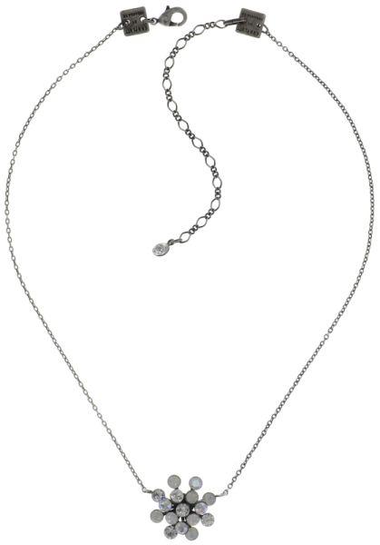 Konplott Magic Fireball Halskette mit Anhänger in weiß #5450543728087