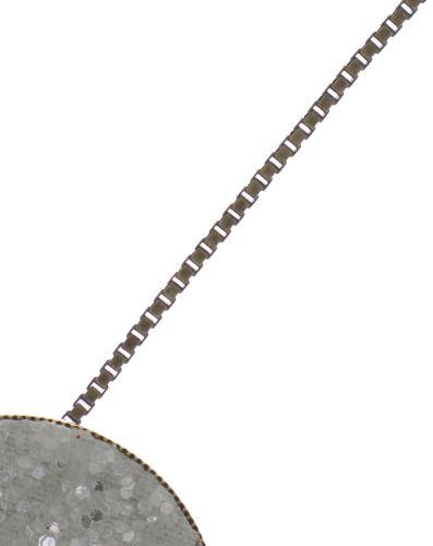 Konplott Studio 54 Halskette mit Anhänger in cremeweiß Messing #5450543748955
