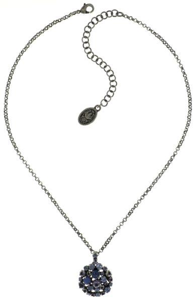 Konplott Ballroom blaue Halskette mit Anhänger #5450543642901