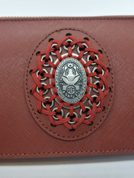 Konplott Plain is Beautiful Wallet Bag Burned Henna #5450543544328