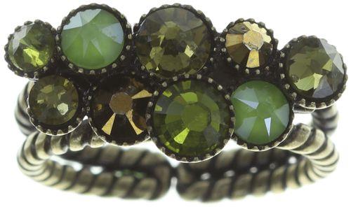 Konplott Water Cascade Ring in grün #5450543754291