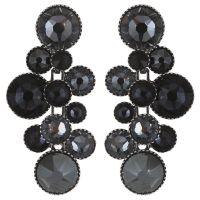 Konplott Water Cascade Ohrhänger in schwarz