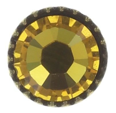 Konplott Black Jack Ohrstecker klassisch klein in yellow sunflower #5450543650104
