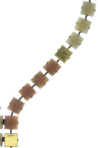 Konplott Cleo Halskette Y-Form in beige/weiß #5450543724713